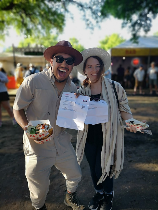 Winners of VIP ticket upgrades at Fortress music festival